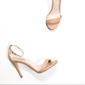 Steve Madden Stecy Heeled Sandals Nude/Neutral 9